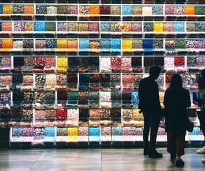 candy, colours, and couple image