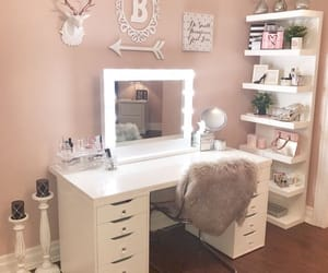 makeup, beauty, and decoration image