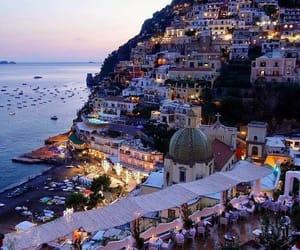 travel, italy, and positano image
