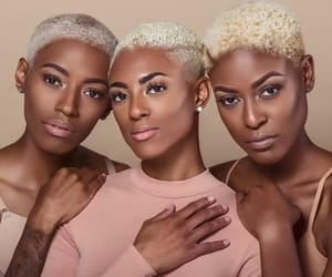 aesthetic, gold, and melanin image