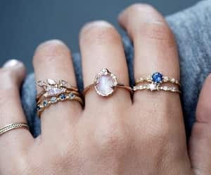 rings, fashion, and jewelry image