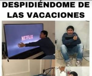 meme and vacaciones image