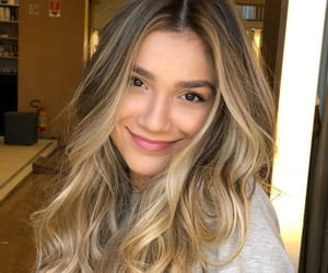 cabelo, hair, and girl image