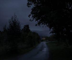 dark, night, and Darkness image
