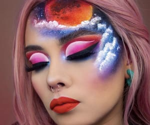 aesthetic, makeup goals, and art image