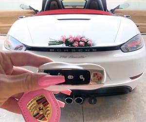 car, nails, and porsche image