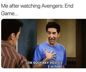 Avengers, meme, and reaction image