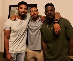 black men, lance gross, and omari hardwick image