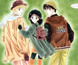 manga, shojo, and wallpaper image