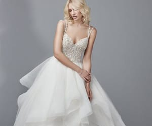 beautiful, bride, and engaged image