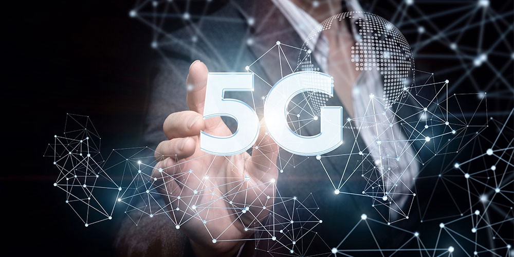 article, technology, and 5g phones image