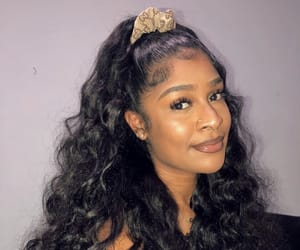 hair, hairstyle, and natural image