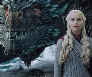 game of thrones, emilia clarke, and daenerys targaryen image