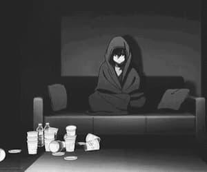 depression, gif, and hurt image