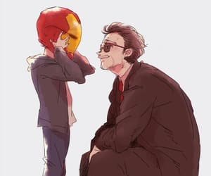 Marvel, tony stark, and morgan stark image