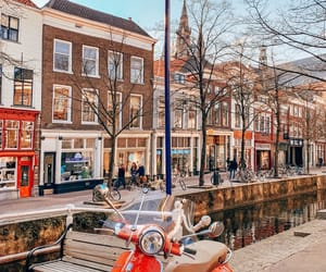 cities, city, and delft image