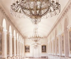 architecture, chandelier, and palace image