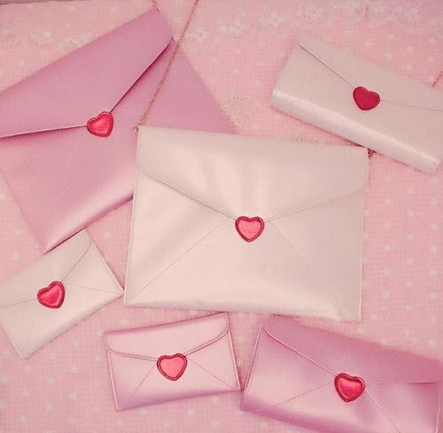 aesthetic, pink, and love image