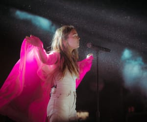 concert, girl, and indie image