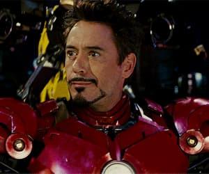 Avengers, gif, and tony stark image