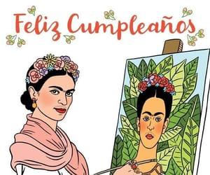 artista, happy birthday, and frida kahlo image