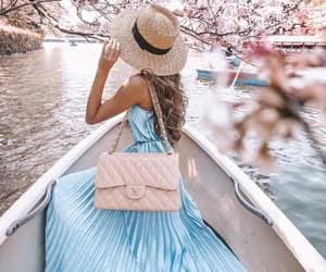 fashion, beauty, and spring image