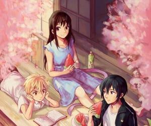 anime, family, and hiyori image