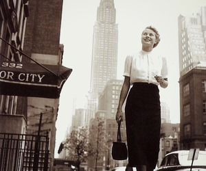grace kelly, new york, and vintage image