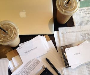 coffee, starbucks, and college image