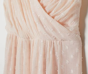 gown, H&M, and pleats image