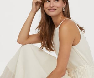 girl, H&M, and pleats image