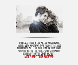 quote, robert pattinson, and remember me image