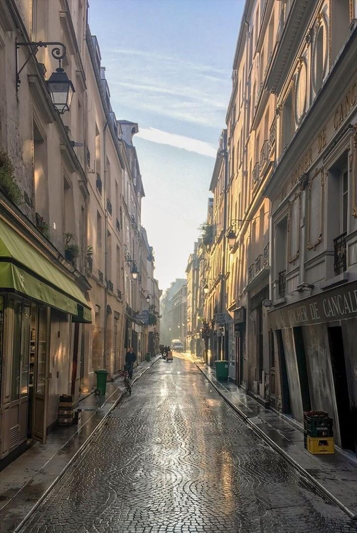 architecture, cobblestones, and france image