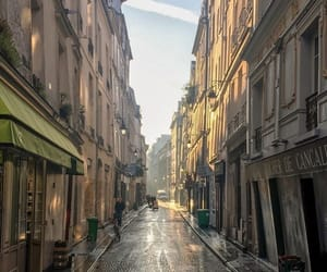 architecture, cobblestones, and france image
