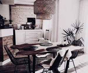 apartment, chairs, and decor image