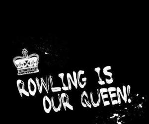 harry potter, rowling, and jk rowling image