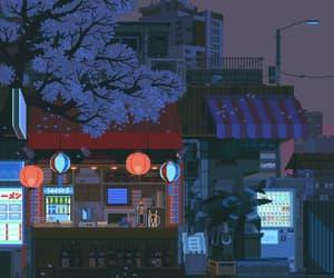 anime, computer graphics, and gif image