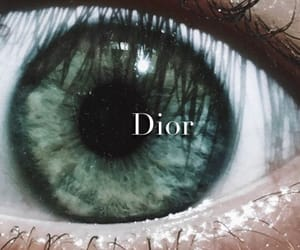 dior, eyes, and green image
