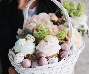 cakes, easter, and eggs image