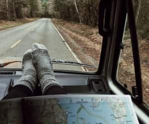 travel, map, and adventure image