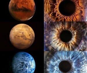 beautiful, mars, and blue image