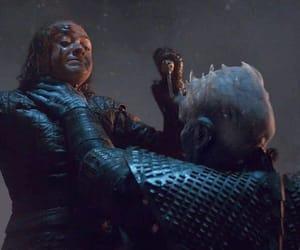 stark, arya stark, and the night king image