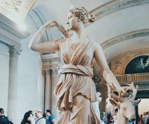 aesthetic, french art, and louvre museum image