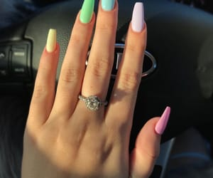nails, beauty, and pastel image