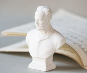 etsy, russian composer, and mini bust statue image