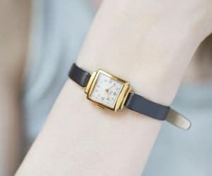 etsy, montre femme, and gold lady watch image