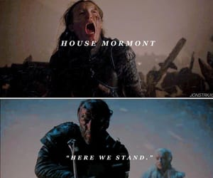game of thrones, jorah mormont, and house mormont image