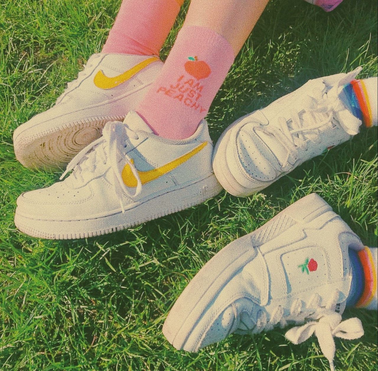 aesthetic, shoes, and nike image
