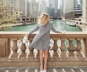 chicago, city, and dress image