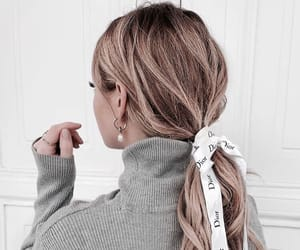 details, girl, and hair image